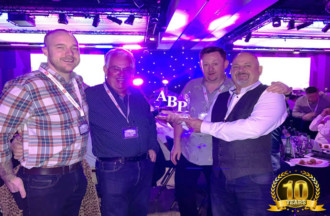 ABP Awards 2018 - 10 Year Running